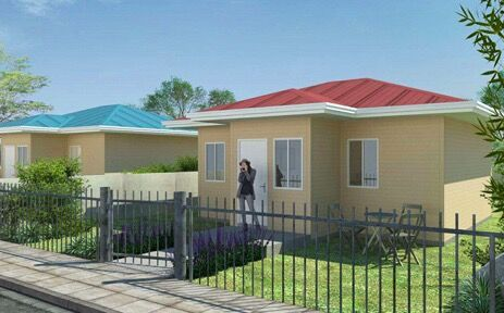 Prefab T Type House