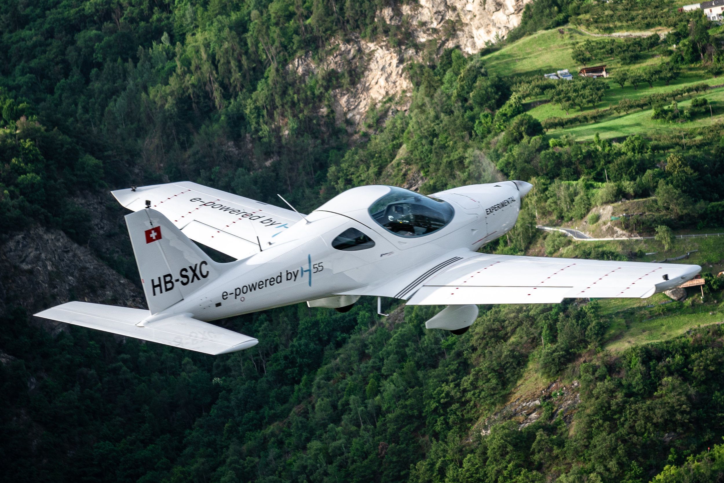 H55 Electric Flight Trainer  ©  H55 /  Anna Pizzolante