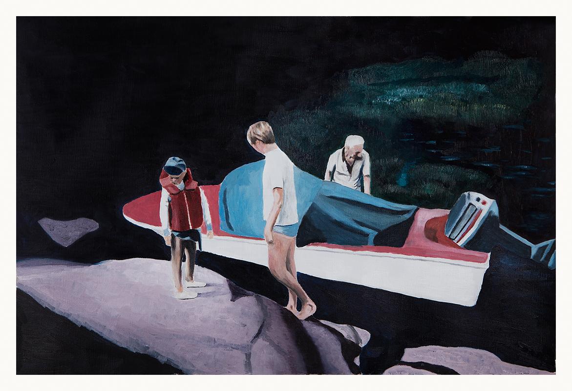 2018 / Blackwater 40x60 cm / Oil on Canvas