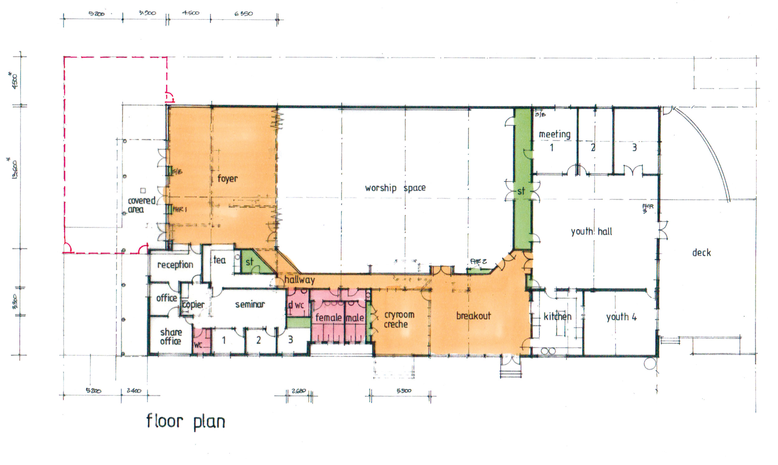 Proposed Factory Floor plan
