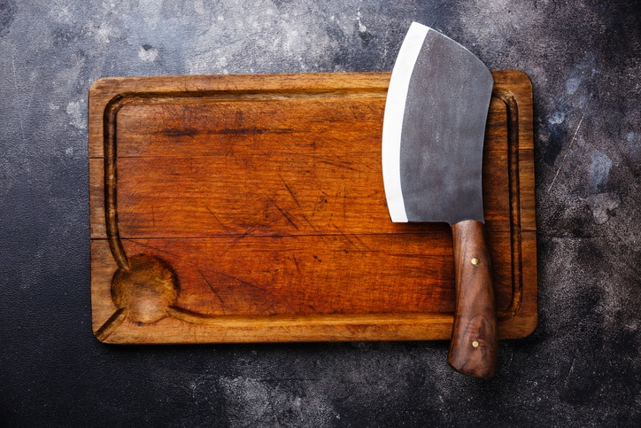A Traditional Heavy Cleaver