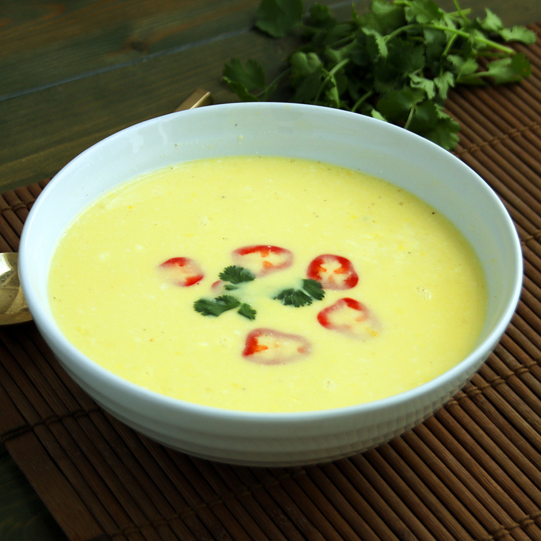 Lemon Grass and Corn Soup