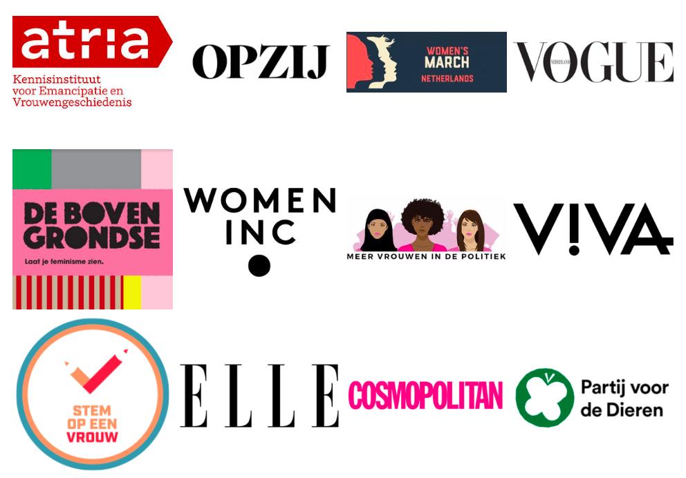 Bekende ondertekenaars - Hedy d'Ancona, Lodewijk Asscher, Rob Wijnberg, Hasna El Maroudi, Mei Li Vos, OPZIJ, Stem op een Vrouw en nog velen anderen!