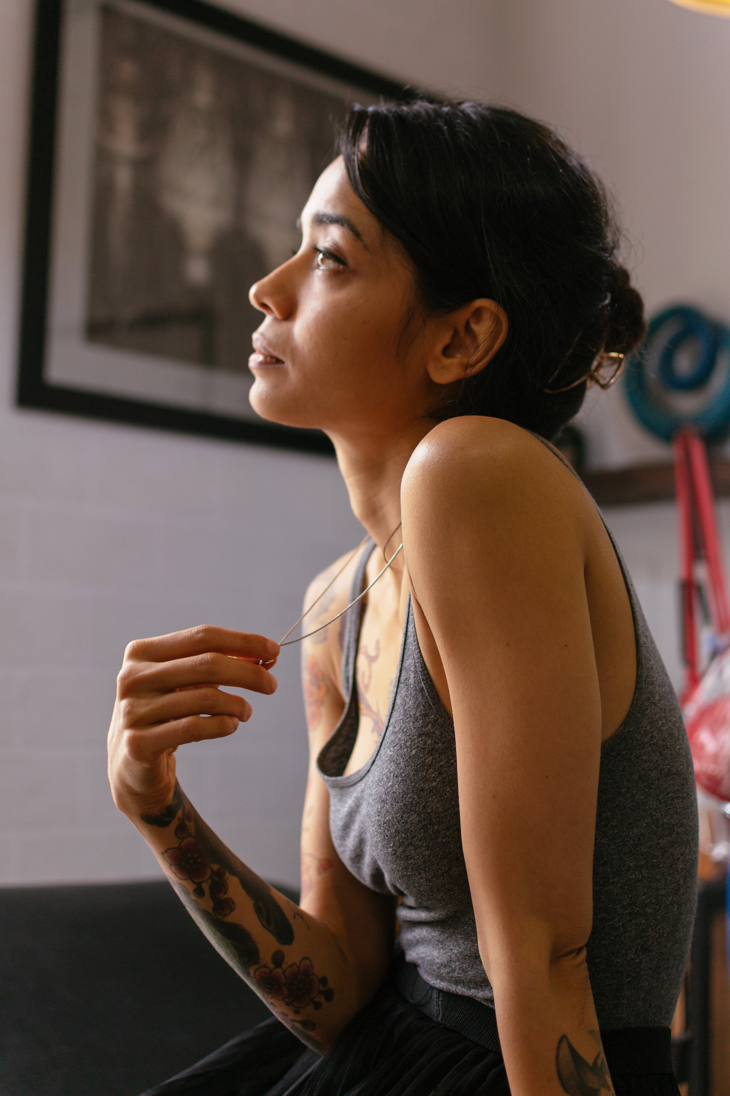 - Originally a graphic designer by occupation, Shyamli wanted a platform that would help her to experiment more with designs that are more expressive. Now, she has been tattooing for almost 9 years and is among the most sought-after female tattoo artists in Delhi.