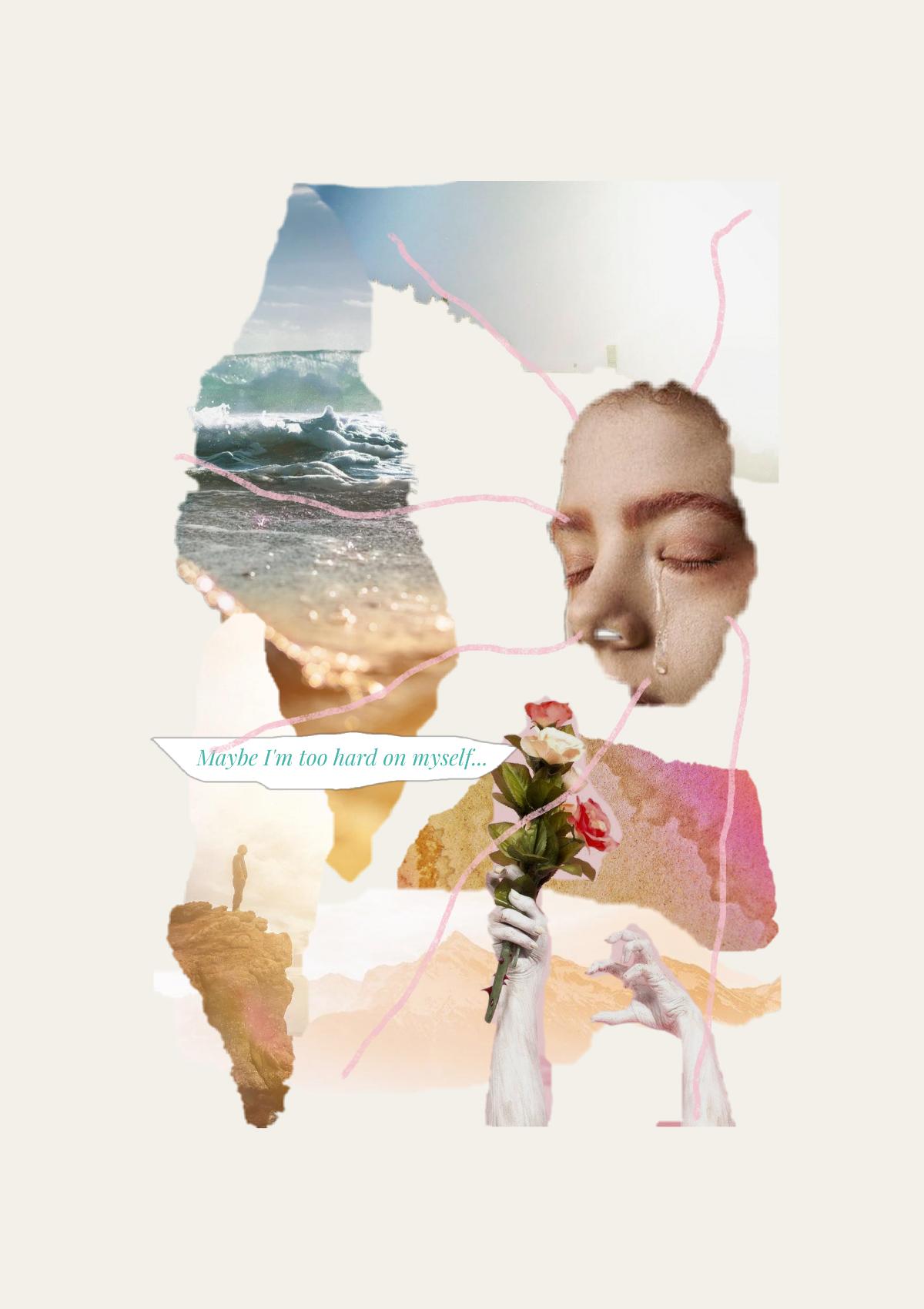 Keneilwe Mokoena, #7531, 2019  Digital Collage  148 x 210 mm  Ed: 10  R 2100 (Unframed)