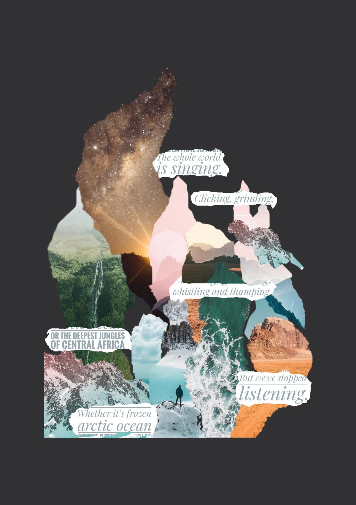Keneilwe Mokoena, #2511, 2019  Digital Collage  148 x 210 mm  Ed: 10  R 2100 (Unframed)