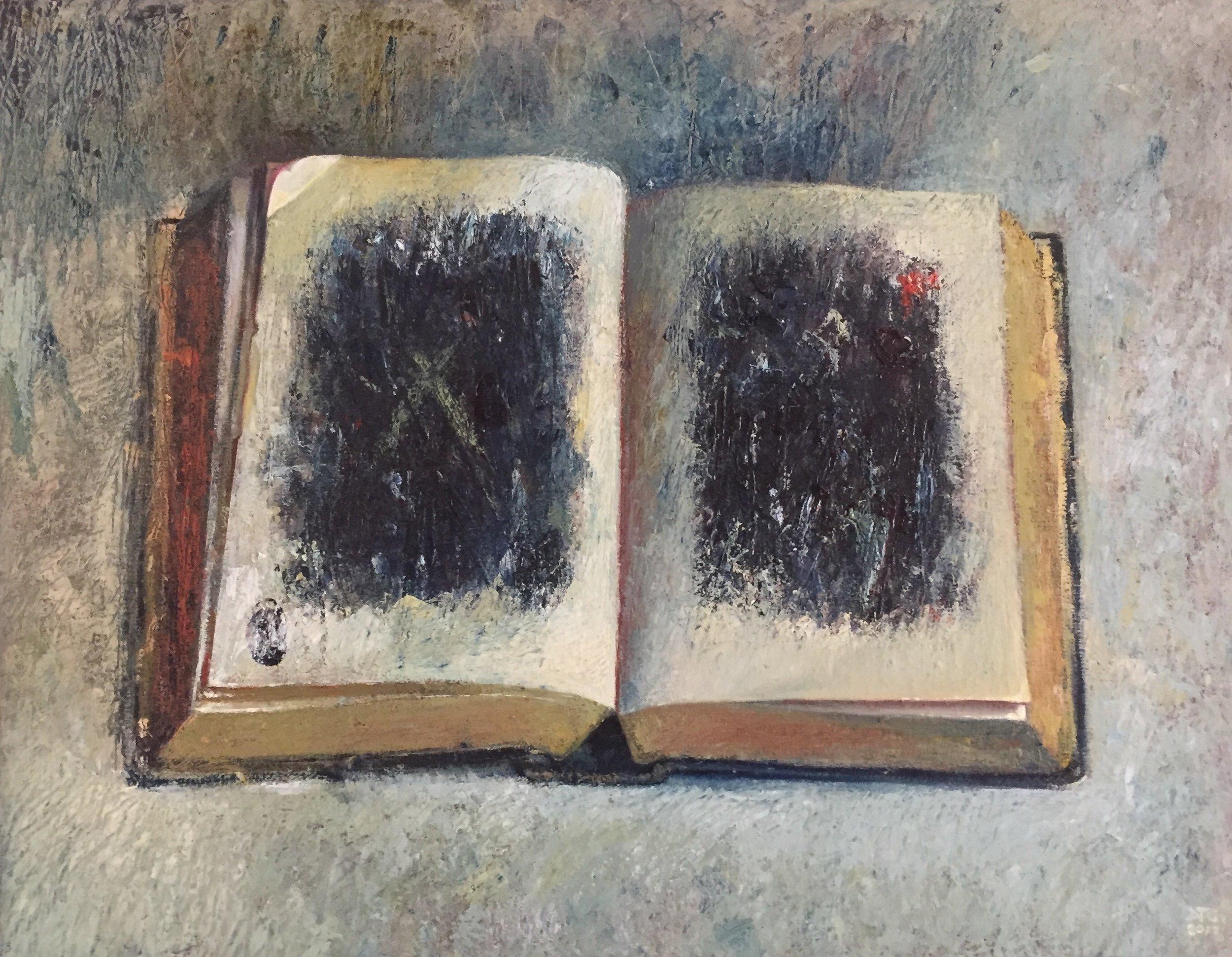 Graham Dylan , Devil This, Devil That  Oil on Linen  56cm x 75cm  Framed- R22000