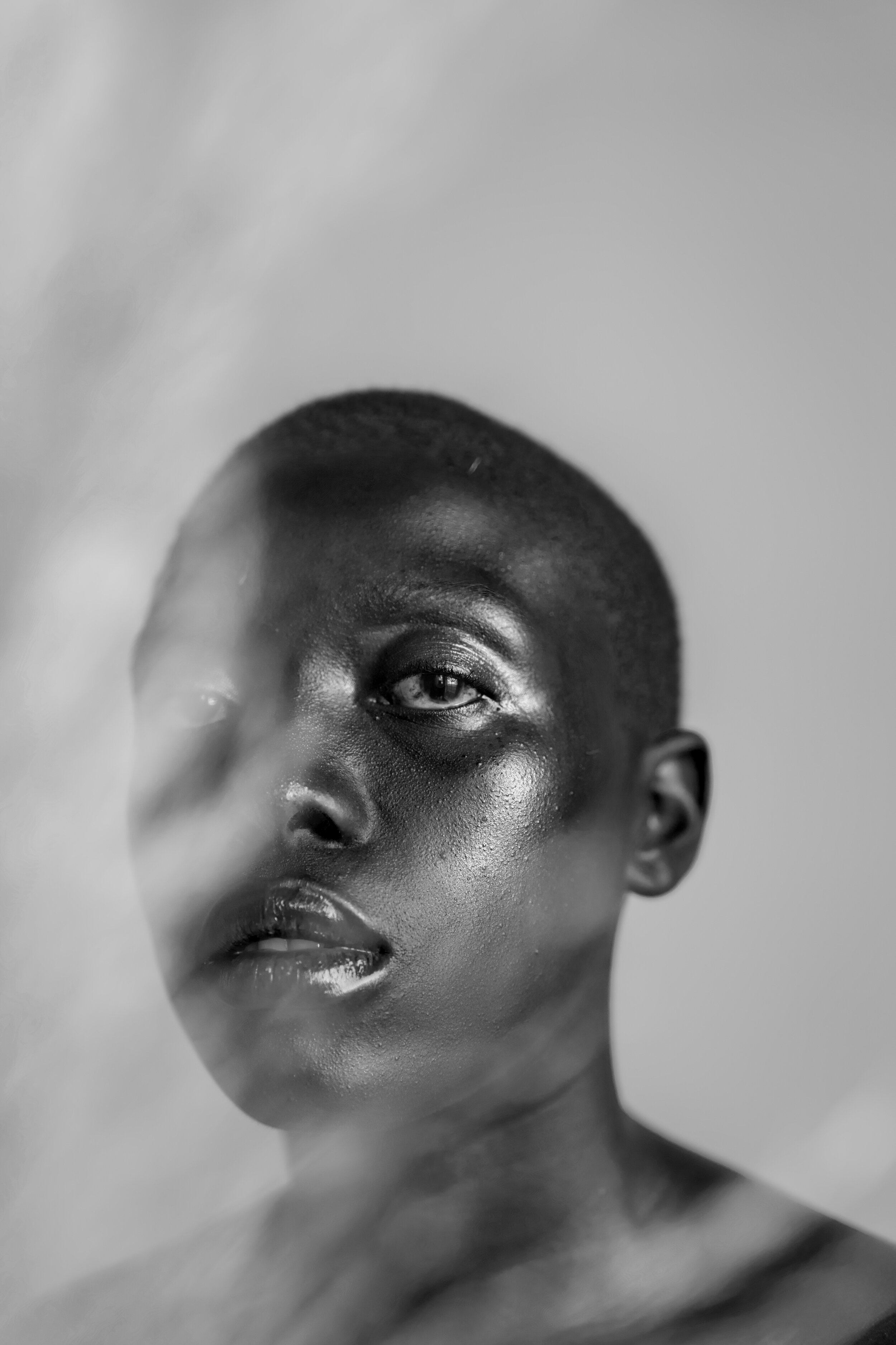 Artist:  Cole Ndelu   Title:  A Study of femininity: a radically soft portraiture project subverting the abject.   Medium:  Limited edition print on archival paper  Year:  2019  Size:  29.7 x 42.0cm   Edition size : 7  Edition number:  1/7  Price:  R10500 (Framed) R9000 (Unframed)