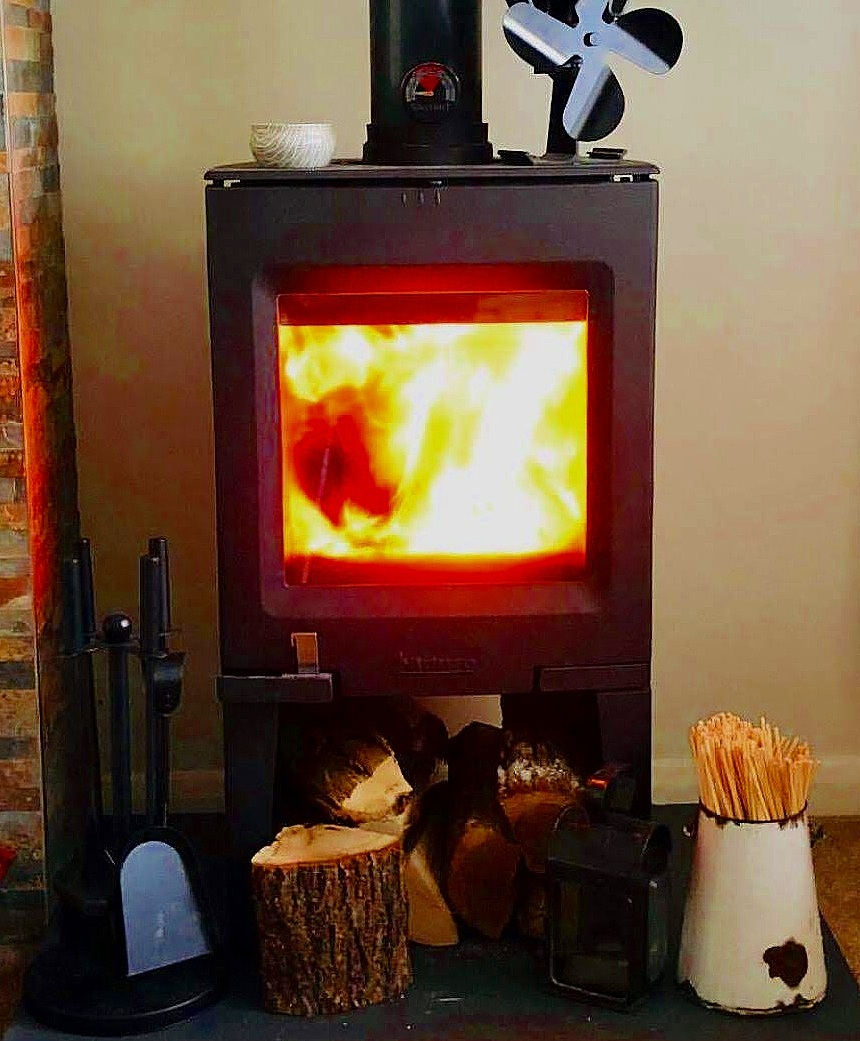 Hot Tips - Get that woodburner going, grab a hot drink, put on some comfy clothes and cuddle up in front of your stove. You have now reached the ultimate relaxing moment of the day! Bliss!