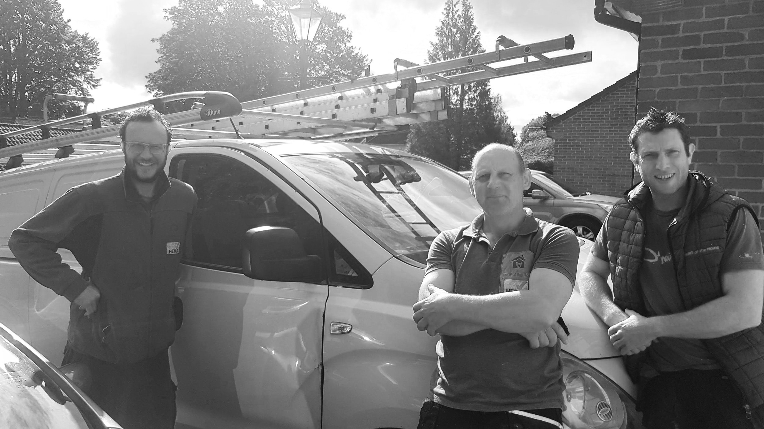Piers Villet (left) and his team are your Woodburner installer specialists in the Salisbury area.