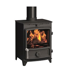 FDC and FDC5 W (wide) Freestanding Multifuel Stove