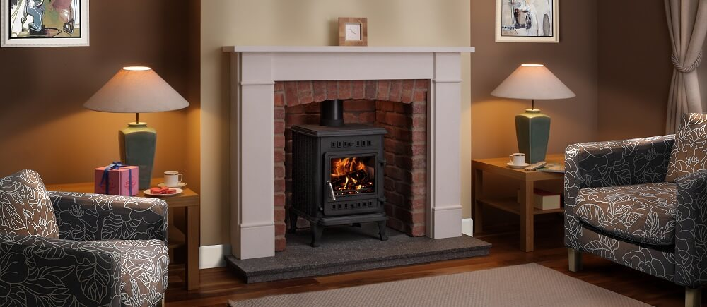 The TFG stoves are available in 5kW and 8kW