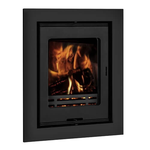 Inset Stoves - Ariel 5S (Steel) and 5G (Glass) Multifuel Cassette Stove