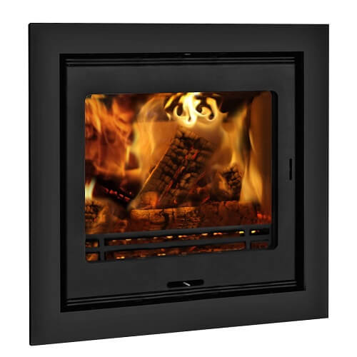 Inset Stoves - Calypso 5S (Steel) and 5G (Glass) Mulitifuel Cassette Stove