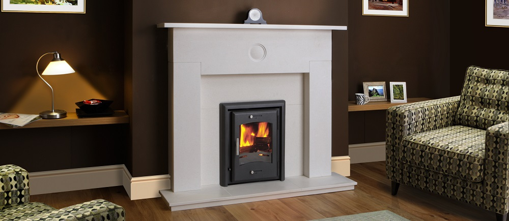 HOTA 7 inset stove is available in 7kW output
