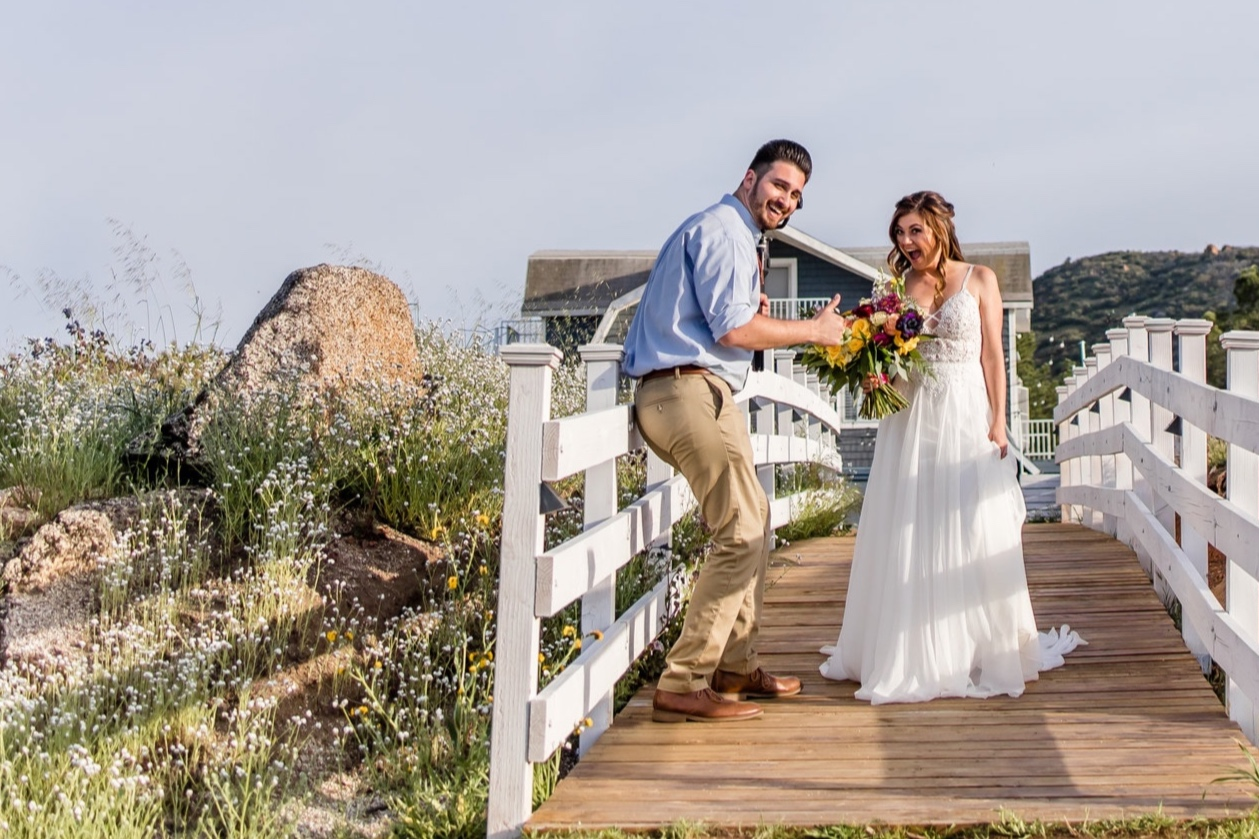 """Ronn + Carly C. - """"Working with Jonathan was awesome! He arrived early and was a professional from start to finish. Best of all he was super friendly, outgoing, and made everyone feel comfortable. He captured some amazing footage and put together a great looking video that we've watched a gazillion times!""""~Ronn & Carly C."""