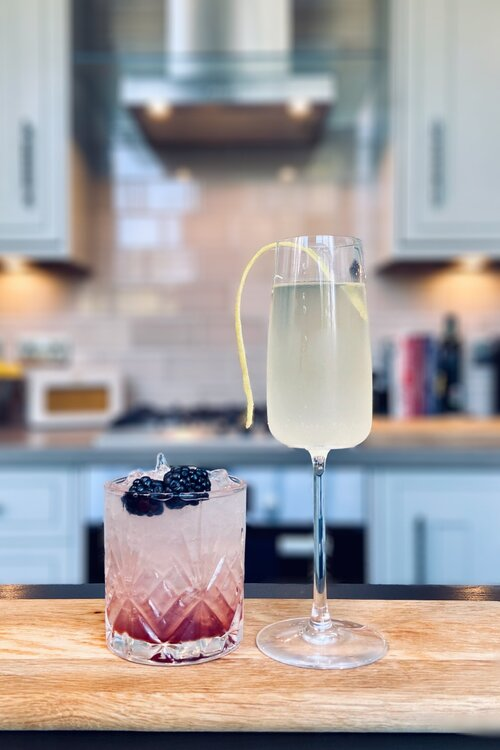 Bramble and French 75