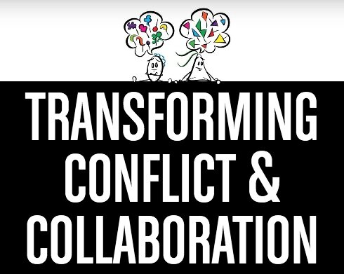 OUR BOOK   Published in Spring 2019,  Transforming Conflict and Collaboration  is a text that introduces the mindset and foundational practices of dialogue facilitation. It is free to read in this virtual form.