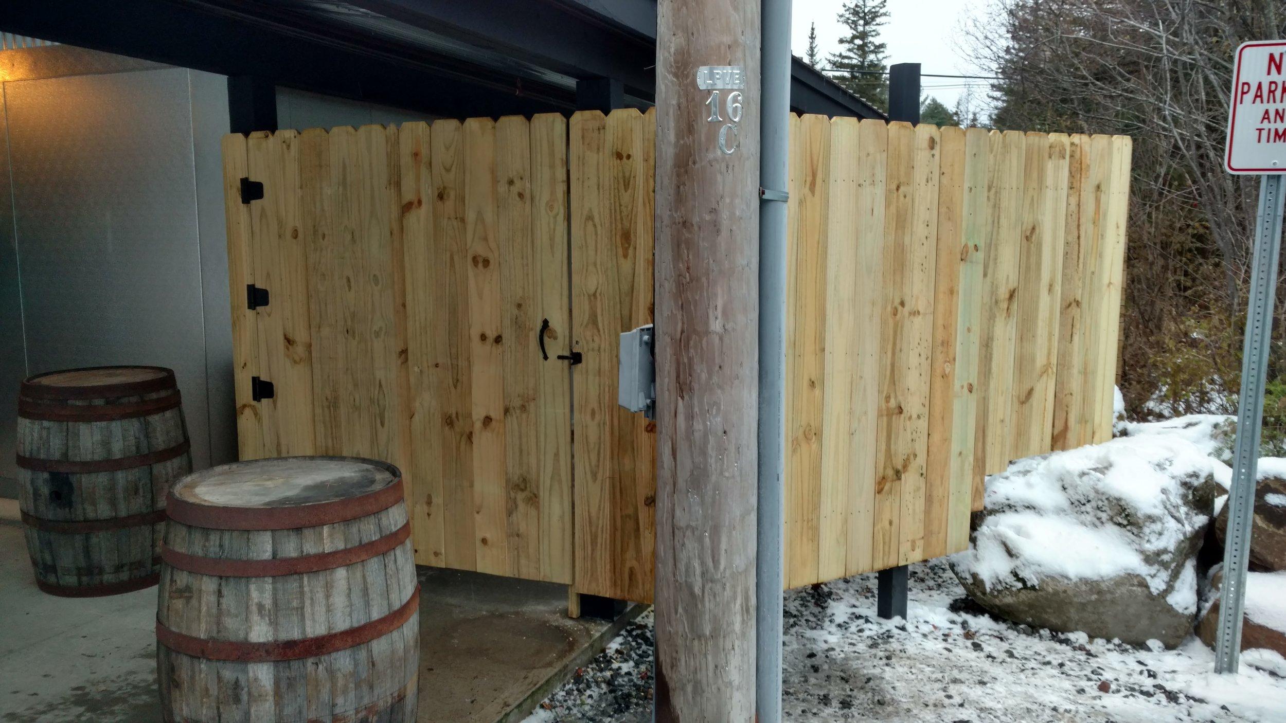 Stockade Fencing