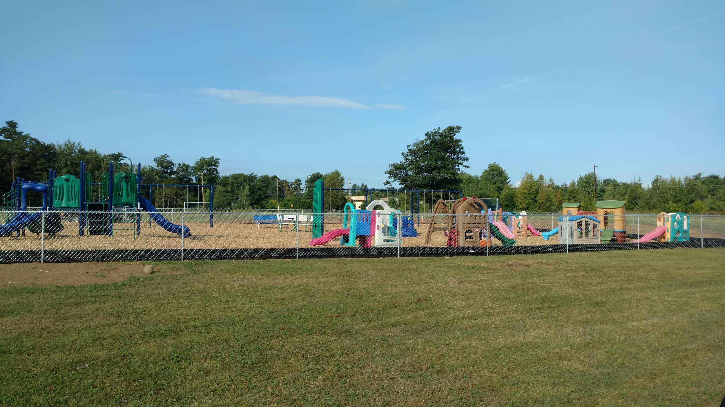 Chain Link Playground Enclosure