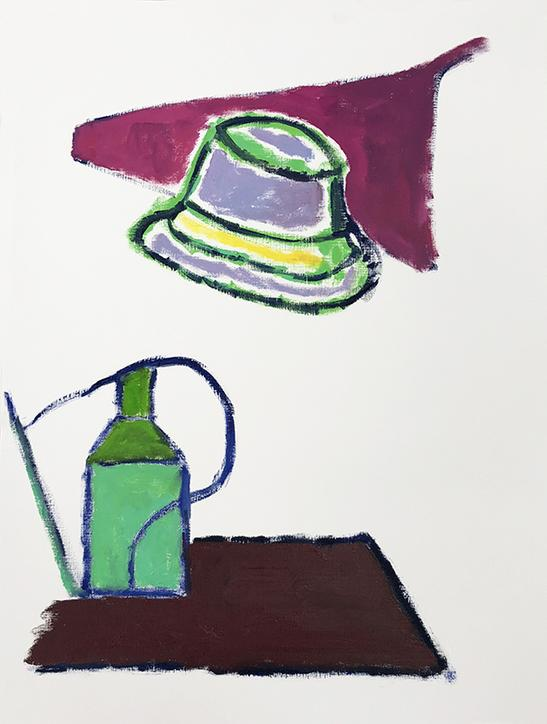 Hat and Watering Can  (2017)