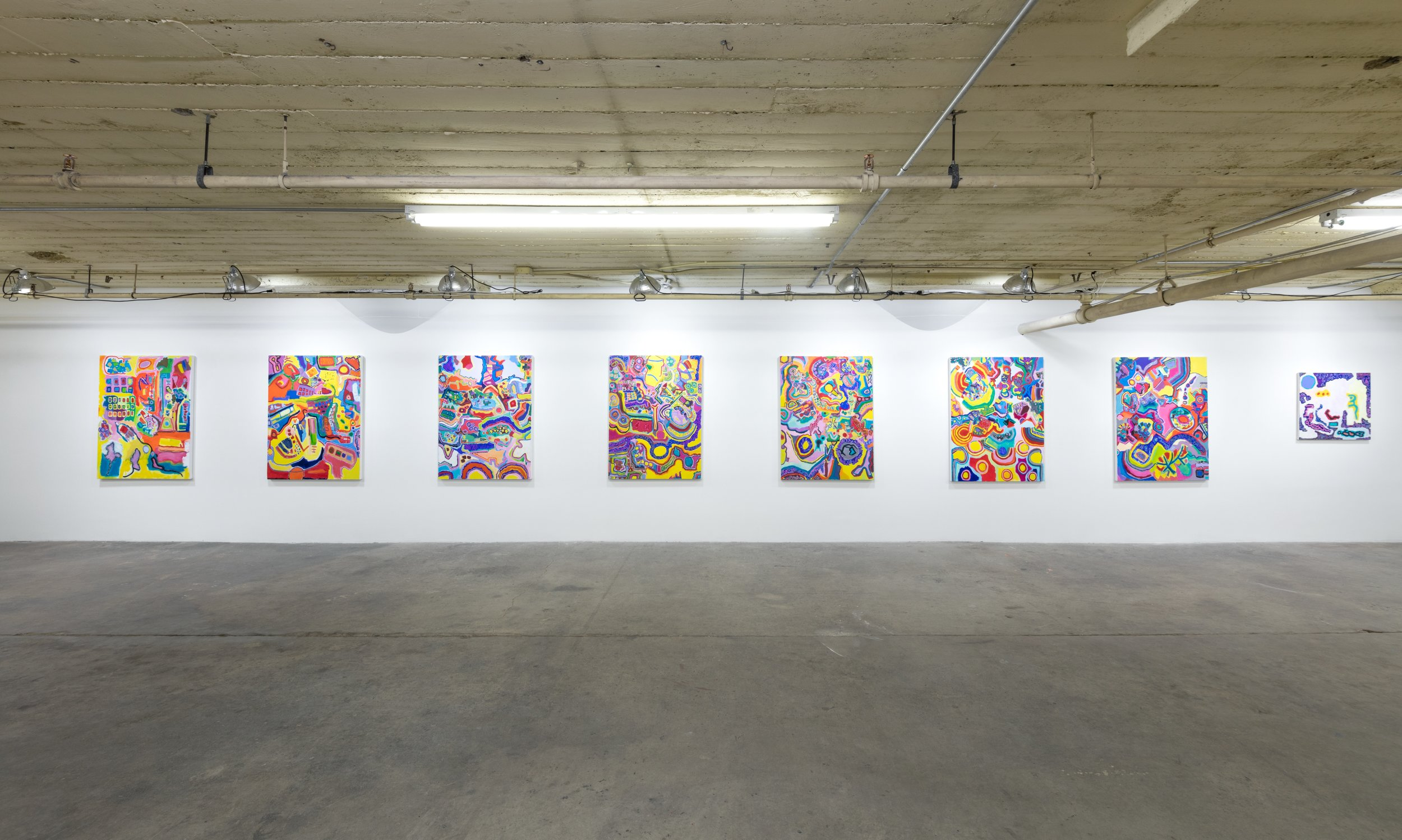 Installation shot, solo exhibition at 356 Mission, Los Angeles (2015)
