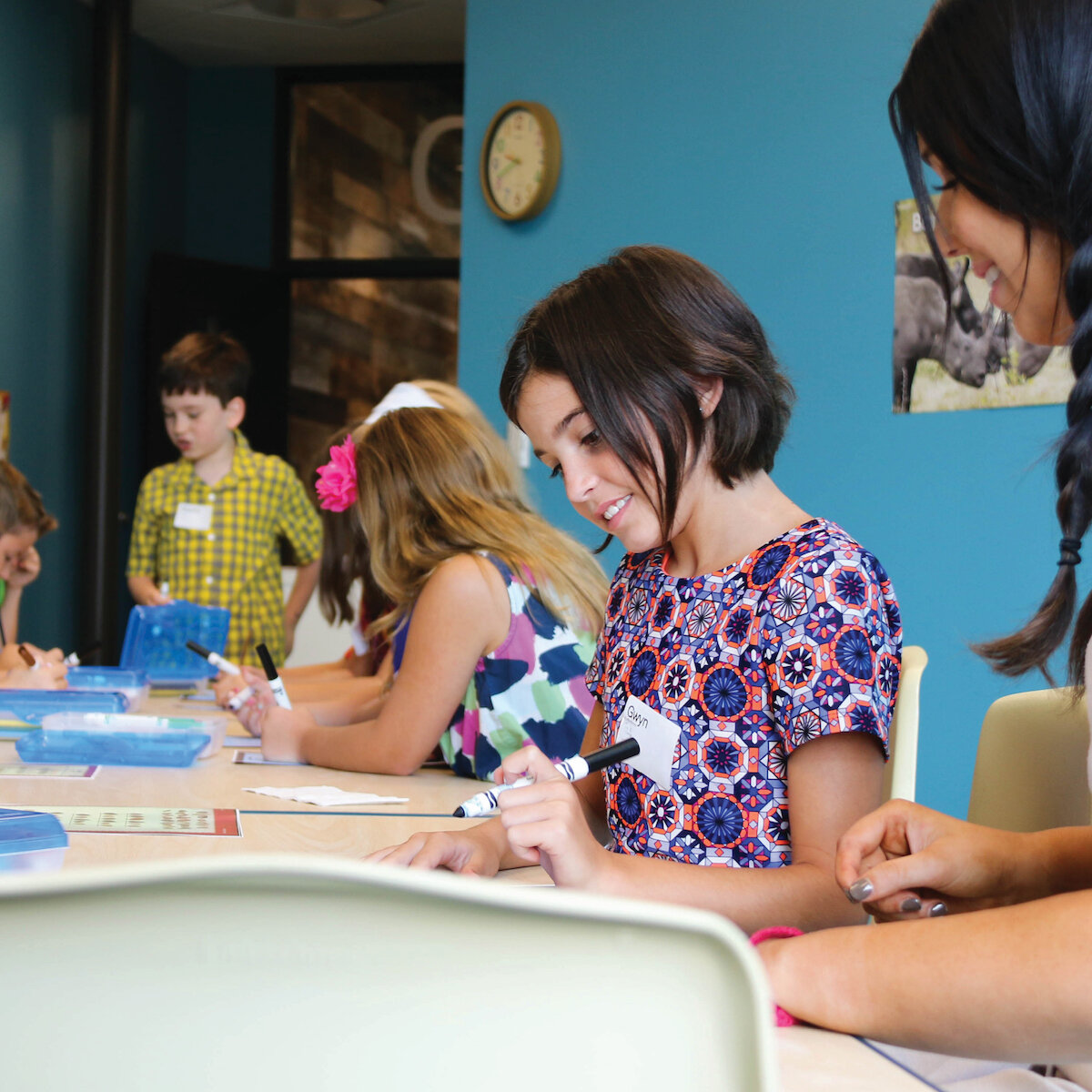 Children's Ministry - We're passionate about helping kids experience God's love on their level through stories, games, crafts, and time with friends.