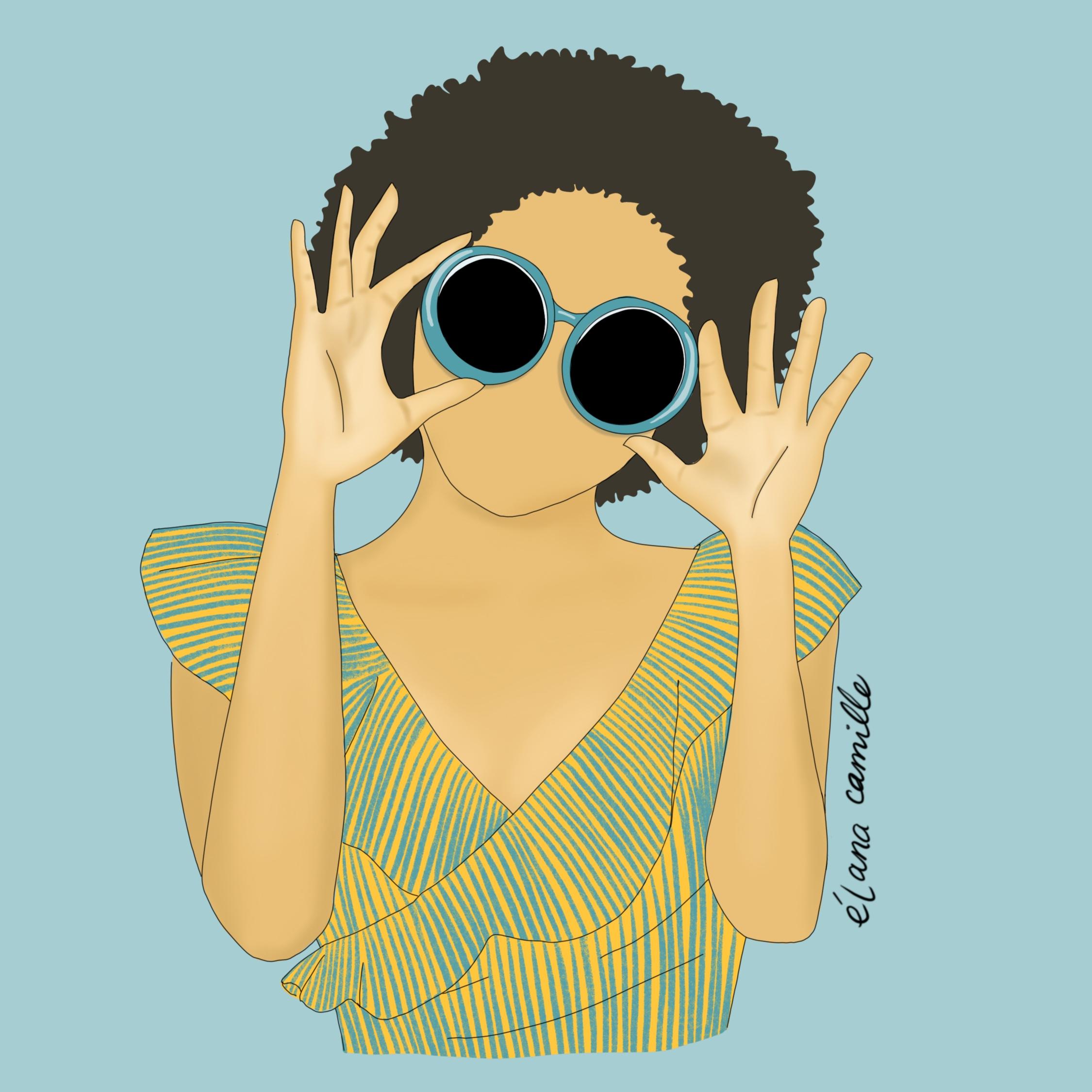Fashion - Afro Sunglasses