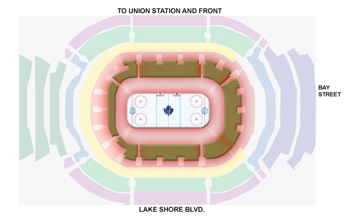 Gold Packages - - Second closest section to the ice surface, ideal for corporate entertaining2 ticket Gold Package ($412.50 per ticket) = $412.50 x 22 tickets = $9,075 + HST4 ticket Gold Package ($437.50 per ticket) = $437.50 x 44 tickets = $19,250 + HST