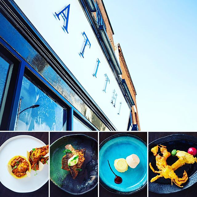 Amazing New Dishes to try! Lobster, chilli kulfi, soft shell crab, madras fish #atithicambridge #millroadcambridge #cambridge #cambridgeshire #cambridgefoodie #cambridgefoodtour