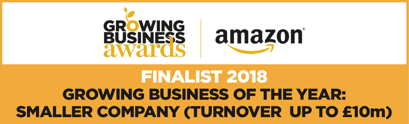 Amazon Growing Business Awards - Growing Business of the Year: Finalist
