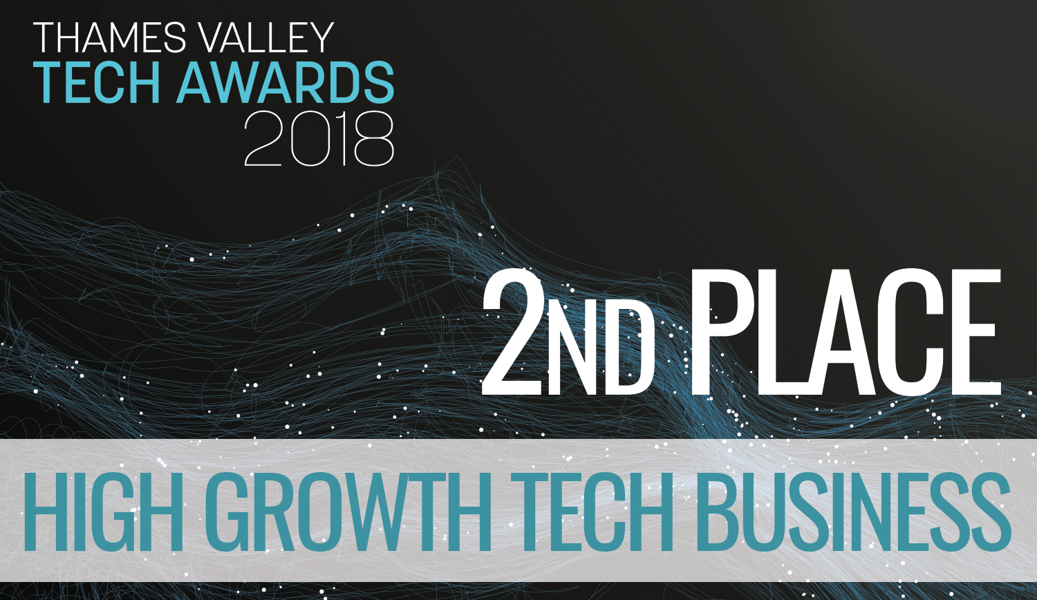 Thames Valley Tech Awards - High Growth Tech Business: 2nd Place