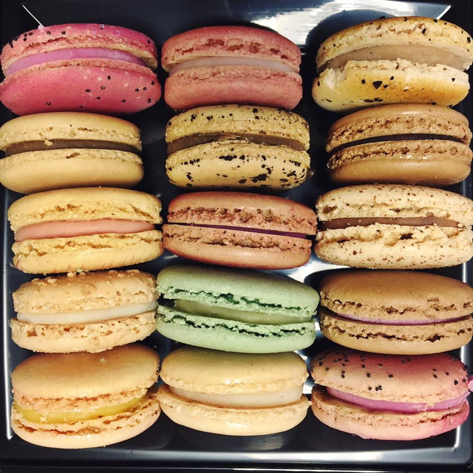 Freshly made French macarons from our bakery.jpg