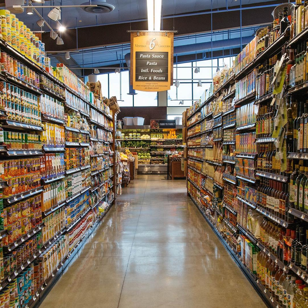 A picture of our fully stocked Italian and International foods isle.png