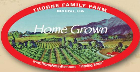 Thorne Family Farm Logo