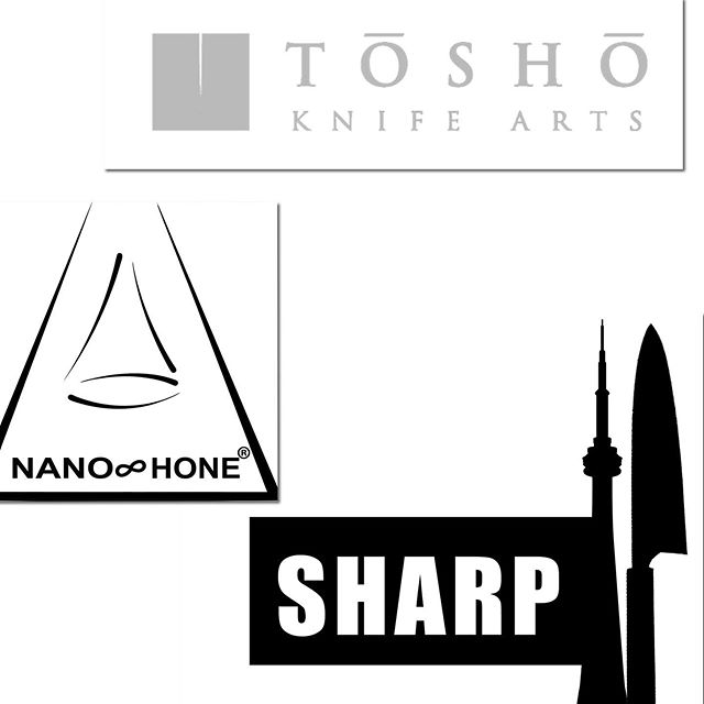 Proud to be in partnerships and represent these guys 🤜🤛 #sharperissafer #japaneseknives #sharptoronto #sharpcanada #kitchenknives #knives #sharperisbetter