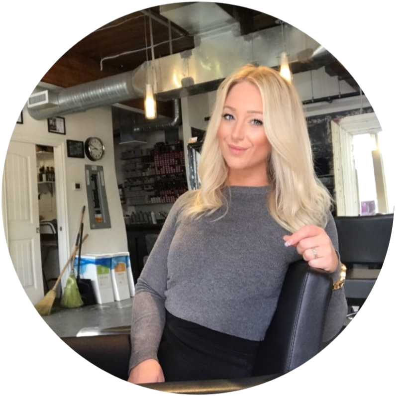 """TRISH  LOVES: Extensions, styling and blonding.  TRAINING: Started her career in 2009. Has since completed additional training in extensions, balayage/highlighting techniques, creative cutting and styling.  WHY SHE LOVES BEING A HAIRSTYLIST: """"I love making people feel amazing. I take a lot of pride in the work I do, I want every one of my guests to walk out happy.""""  Visit  Trish's Instagram page  to see some of her work."""