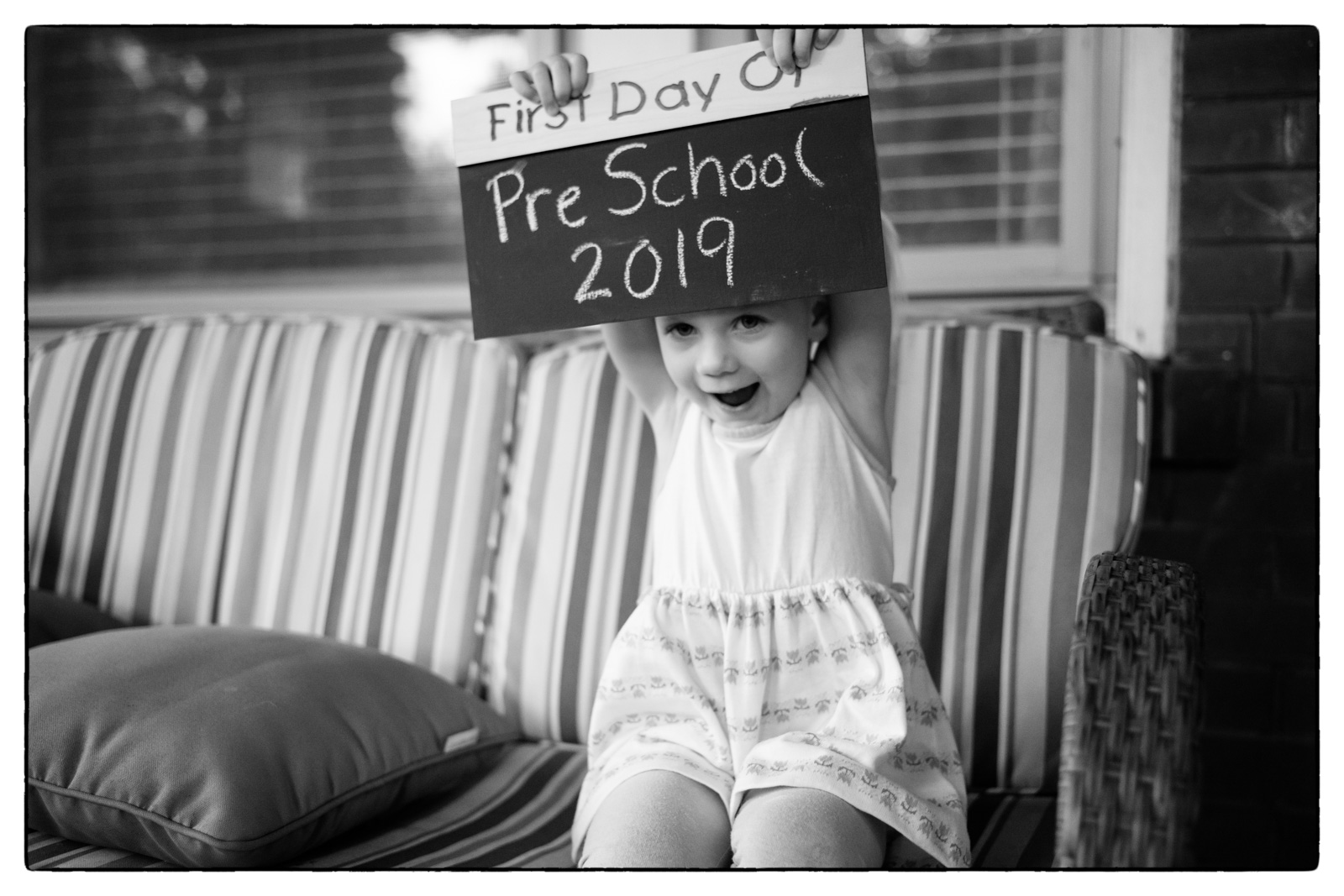 Isabelle - First Day of Pre School 2019