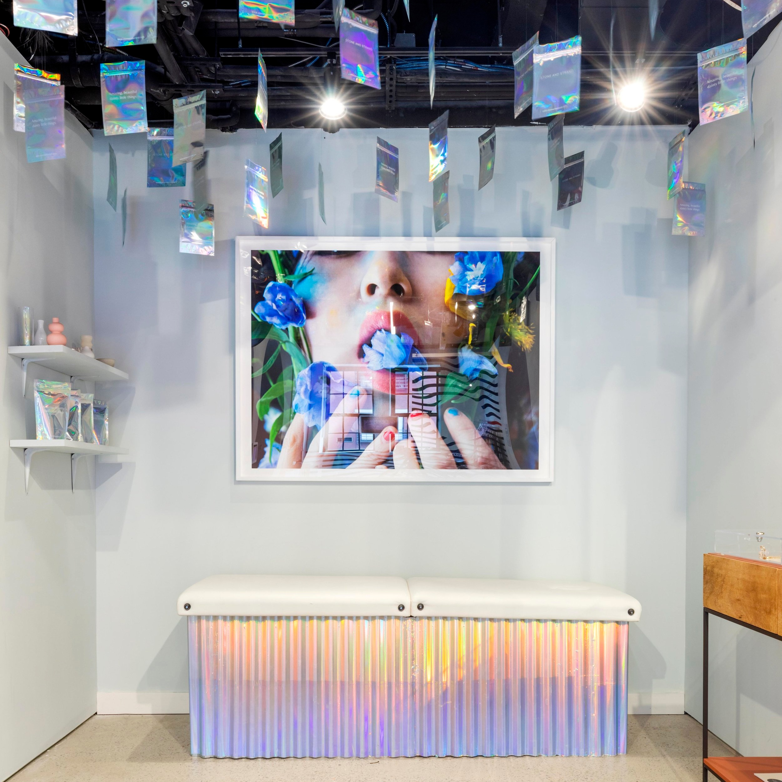 Customized - Each brand in our space has a unique story to tell and conversation to own. We believe in celebrating that individuality through customizable spaces and distinctive storytelling moments.
