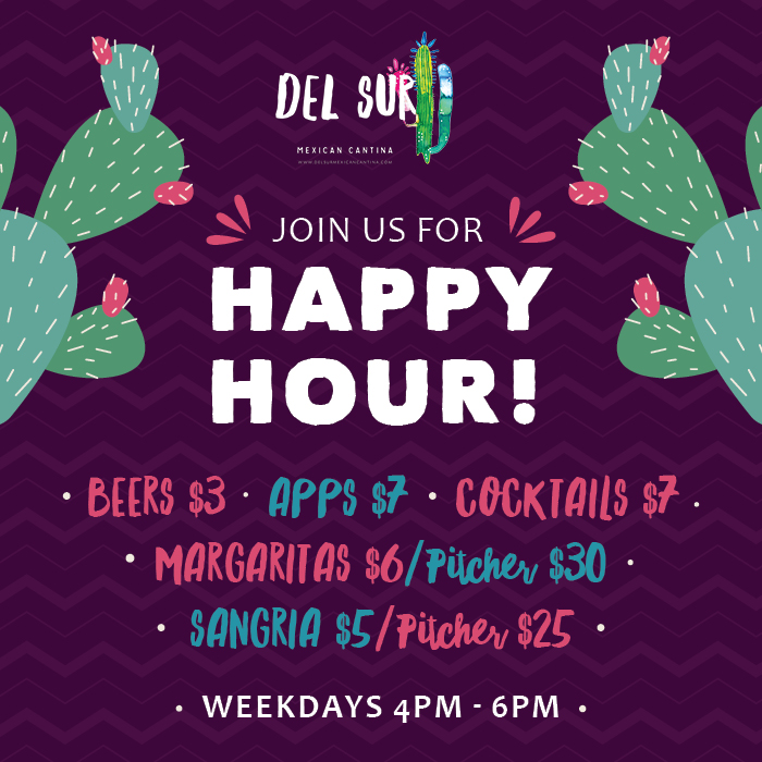 Del Sur Specials & Events