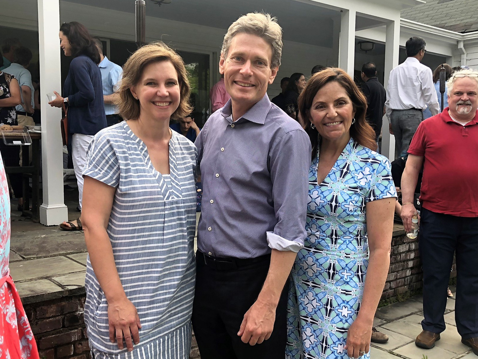 "Rep. Tom Malinowski - ""Let's treat what we accomplished together in 2018 as an opening act and keep this momentum going.I couldn't be more proud to call Lisa and Darcy my friends, my allies—and if we do our jobs—my colleagues."""