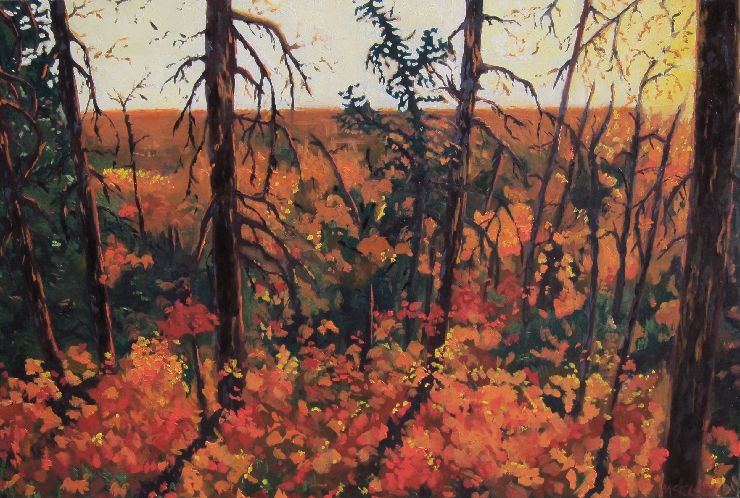 "FALL TIME 20"" x 30"" - SOLD"