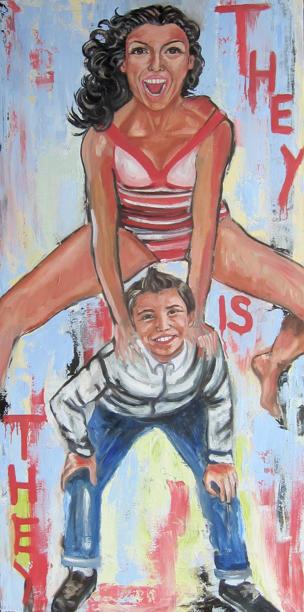 """LEAP FROG 30"""" X 60"""" - AVAILABLE"""