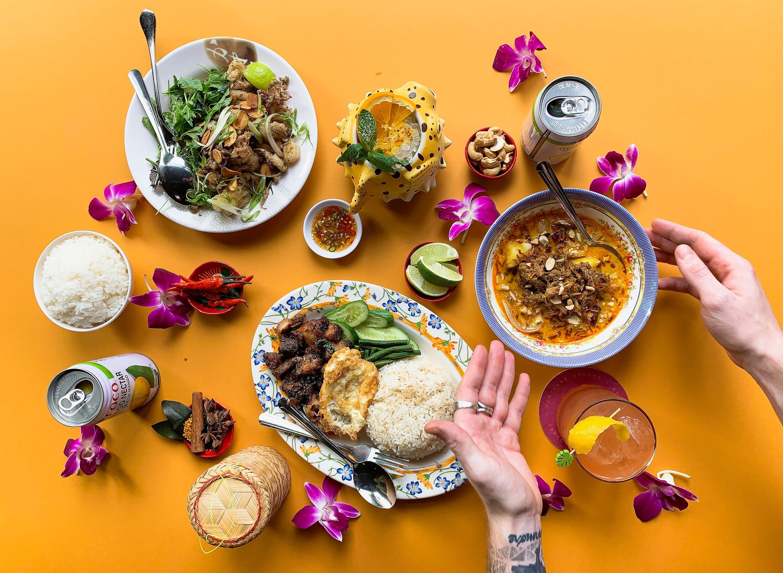 Bangkok born - Texas Smoked- island inspired. - Tiki Thai BarbecueIt's a thing.