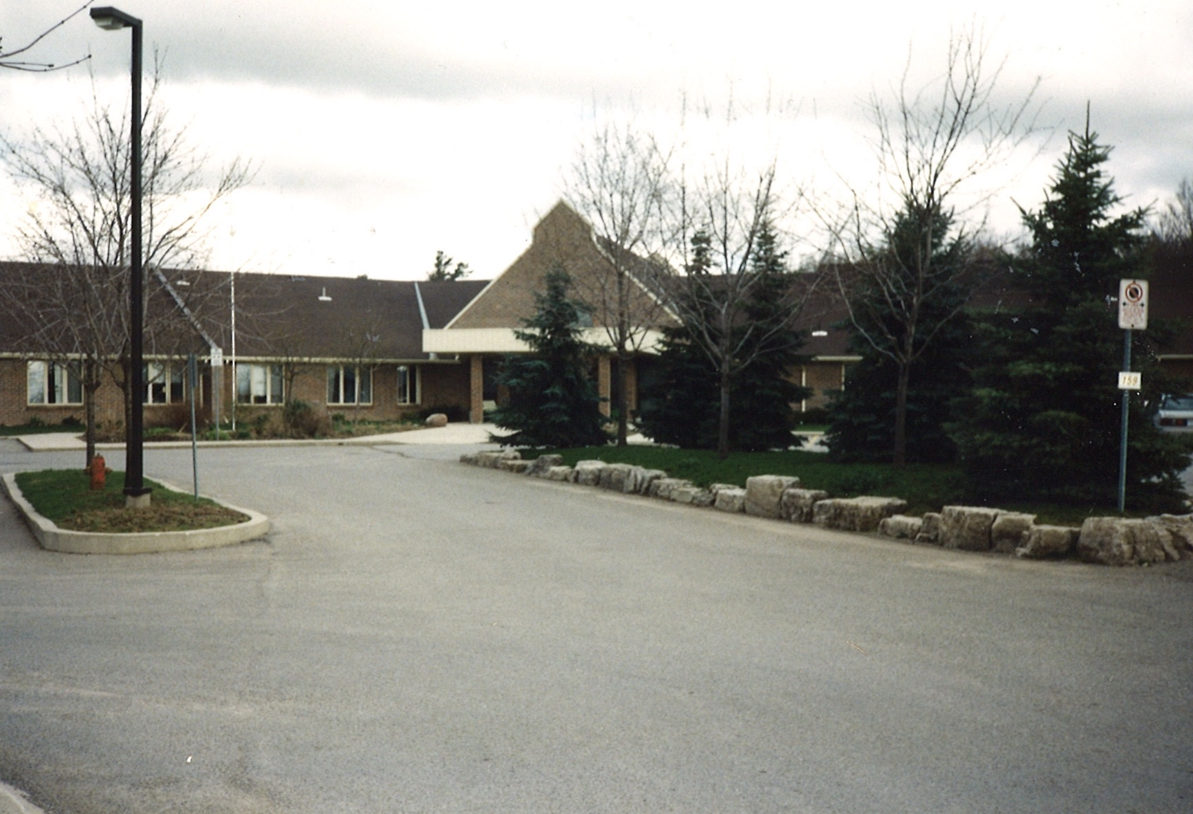 The new CAMA Woodlands facility, October 1990.