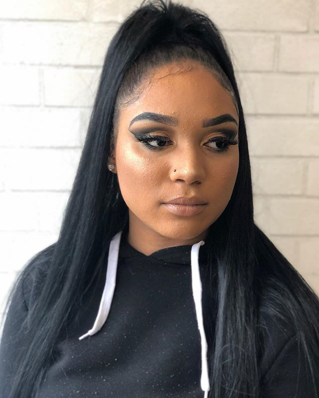 Our #GLAMUP package is still available‼️ __ Package includes - Make Up and hair for 130$ • Deposit is required when booking, to ensure spot is secured. • Clip ins and eye lashes are optional.  ___ #MiiVibes #Prom2019 #HairCulture _____ . . 📲For more info 👩🏼‍💻 Call 978 655 4364. Or DM Us.  _______________________________________ ⚡️See more on our Insta Stories 📖 _______________________________________