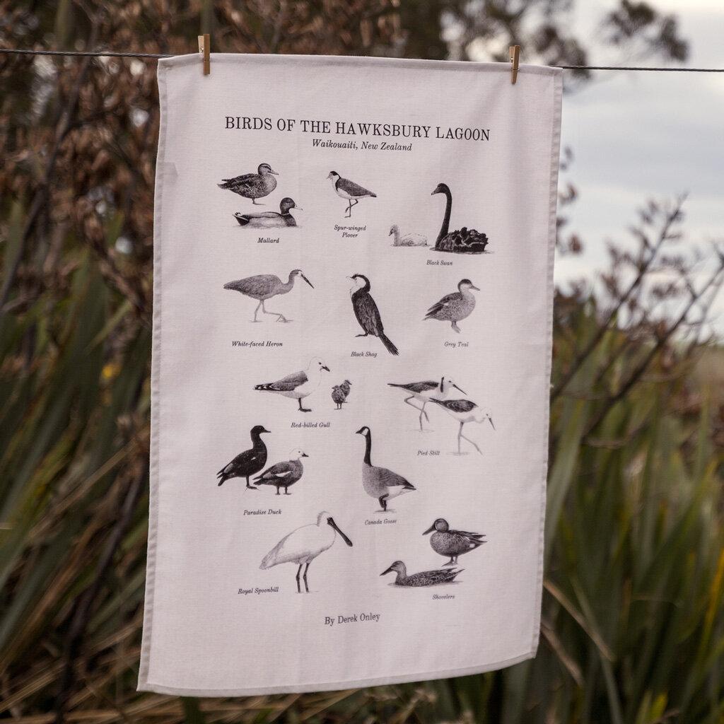 Hawksbury Lagoon Tea Towel -