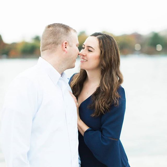 These two are tying the knot in exactly one week and I couldn't be more excited for them! 🙌🏼 I love how they're so perfectly drawn to each other 📸 @hannahbjorndal . . #dccouple #dcwedding #engagementsession #dayodcoordinator #dcdayofcoordinator #weddingphotography