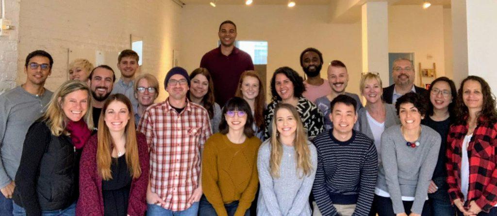 Group photo of RTBiQ employees