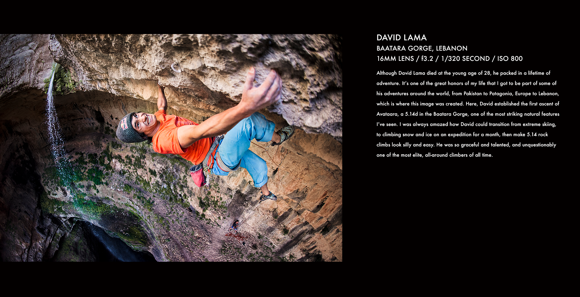 David Lama, Lebanon, climbing, Red Bull, mountain climbing, action sports, stories behind the images, corey rich